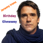 Jeremy Irons Birthday Giveaway Results