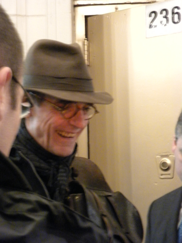 Jeremy Irons at Impressionism signing autographs!