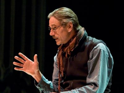 Jeremy Irons teaches Masterclasses in London