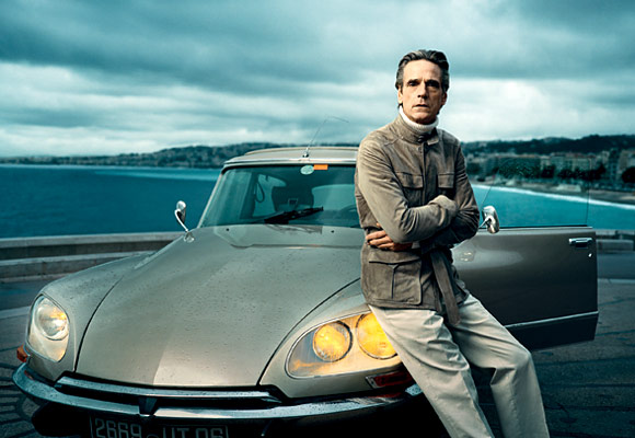 Jeremy Irons in Men's Vogue