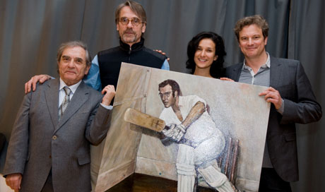 Jeremy Irons discusses the joys of cricket