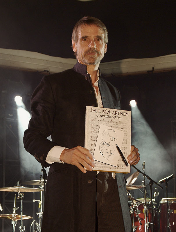 Jeremy Irons at the Sunflower Jam