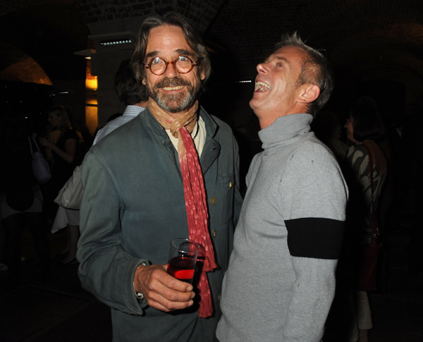 Jeremy Irons and Stephen Daldry