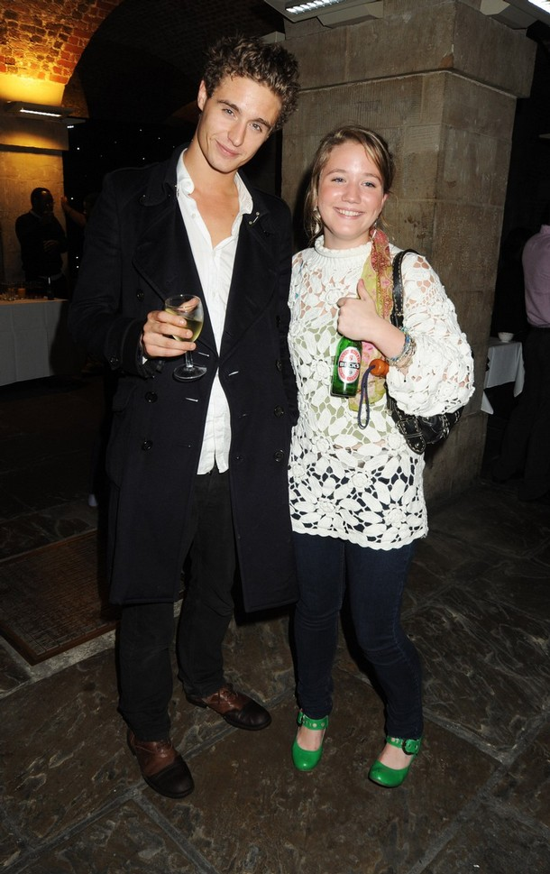 Max Irons and Harriet Riddell