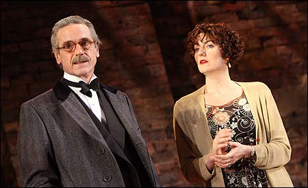 Jeremy Irons and Anna Chancellor in Never So Good at the National Theatre