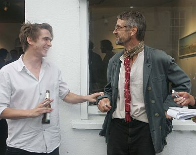 Sam Irons and Jeremy Irons